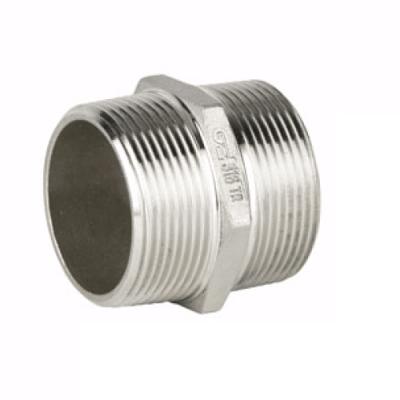 Casquilhos duplos Roscados M/M em Aço Inox AISI 316 Rosca BSP