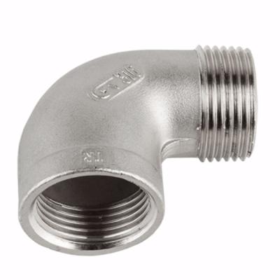Joelhos Roscados M/F em Aço Inox AISI 316 Rosca BSP